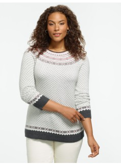 Holly Yuletide Sweater