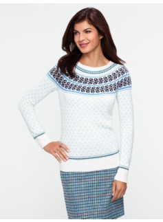 Tulip Fair Isle Sweater
