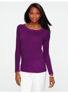 Cashmere Round-Neck Sweater
