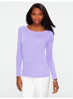 Cashmere Round-Neck Sweater