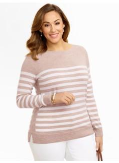 Breton Stripes Merino Boatneck Sweater
