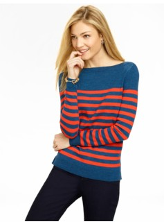 Breton Stripes Merino Boatneck Sweater