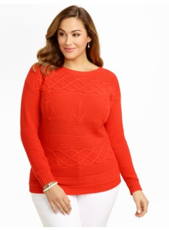Anchor & Cable Sweater