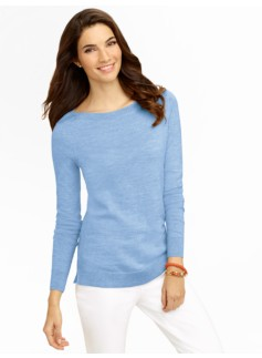Merino Boatneck Sweater