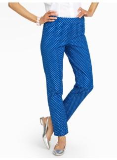 Talbots Hampshire Pants  - Polka Dots