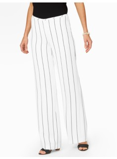 Signature Rope-Twist Stripe Pants