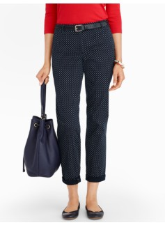 Talbots Weekend Lottie Dots Chino