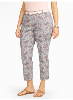 The Perfect Crop - Curvy/Paisley