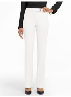 Curvy Lindsey White Bootcut Pants