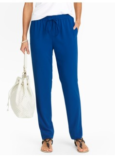 Relaxed Full-Length Pants