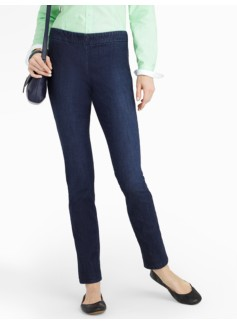 Slimming Heritage Reef Wash Side-Entry Ankle Jeans