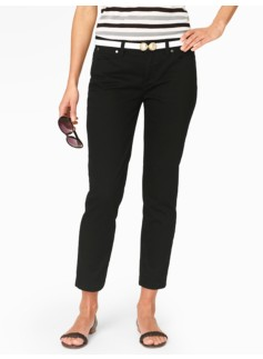 Slimming Signature Crop Jeans