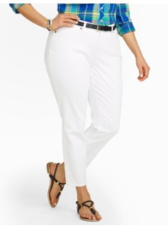 Slimming Curvy Crop Jeans