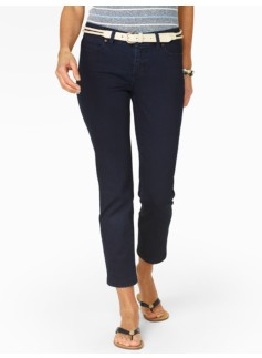 Slimming Signature Midnight Wash Crop Jeans