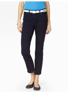Slimming Heritage Midnight Wash Crop Jeans