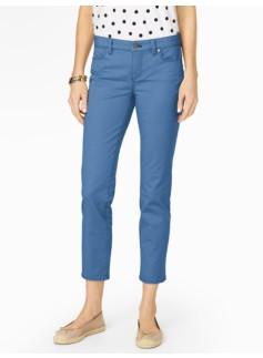 Slimming Signature Crop Jeans