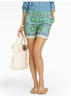 The Weekend Short - Medallion Print