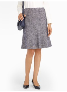 Brighton Tweed Flounce Skirt