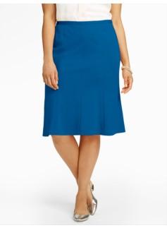 Refined Ponte Trumpet Skirt
