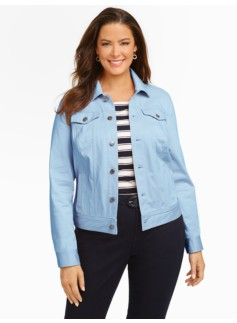Sateen Jean Jacket