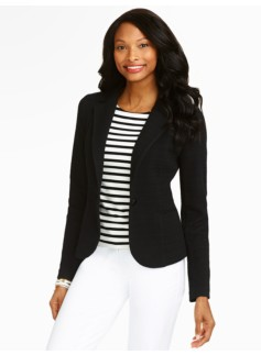 Zigzag-Knit Jacket