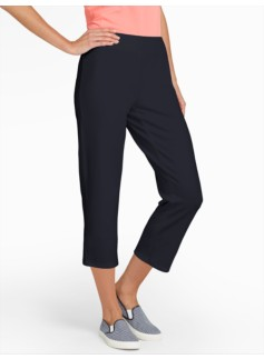 Weekend Terry Crop Pants