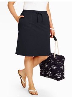 Weekend Terry Skirt