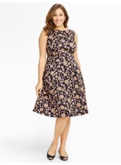 Carnations-Silhouette Dress