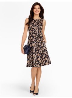Carnations-Silhouette Dress