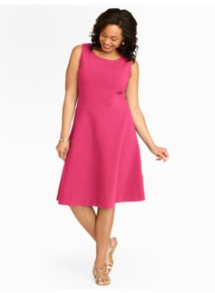Edie Fit-And-Flare Knit Dress
