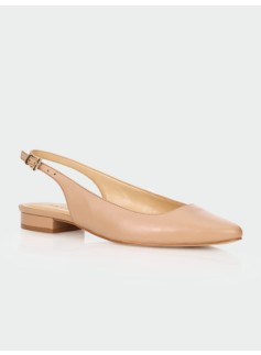 Edison Leather Slingbacks