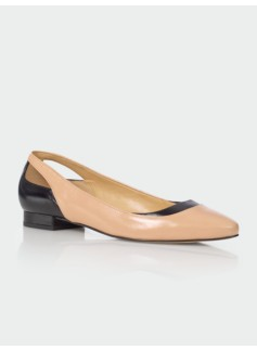 Edison Cut-Out Heel Flats