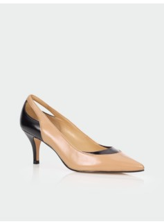 Mable Cut-Out Heel Pumps