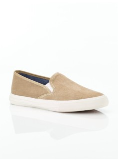 Liv Silk Suede Slip-On Sneakers