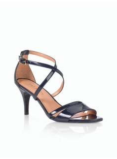 Lucy Patent Leather Strappy Sandals