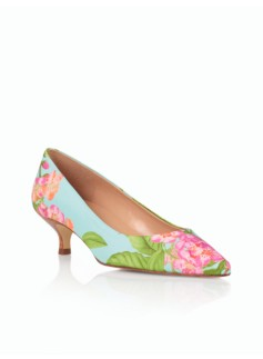 Pippa Watercolor Floral Pumps