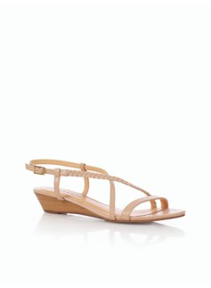 Cece Braided Wedge Sandals