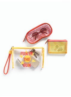 Fun-In-The-Sun Travel Bag Set