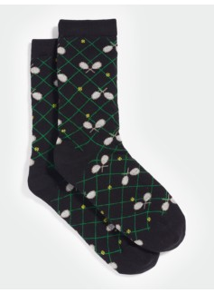 Tennis Racket Trouser Socks