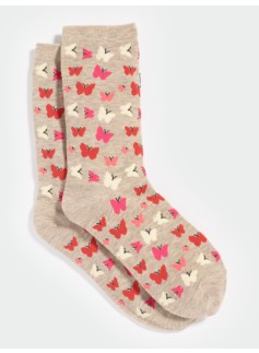 Butterfly Trouser Socks