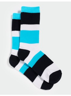 Colorblocked Trouser Socks
