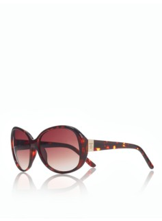 Rounded Glam Sunglasses