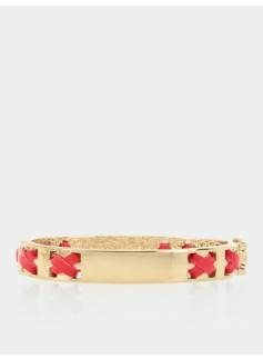 Leather Crisscross Bracelet