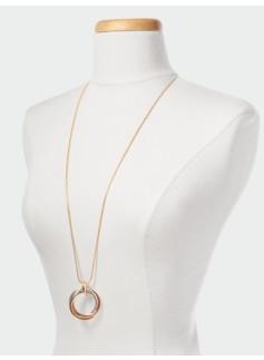 Triple Eternity Necklace