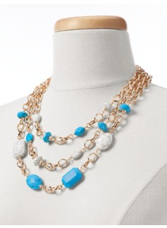 Jade Triple-Strand Necklace