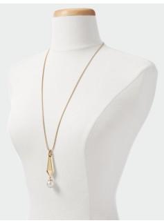 Prism & Bead Necklace