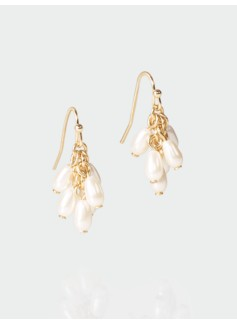 Teardrop Cluster Earrings