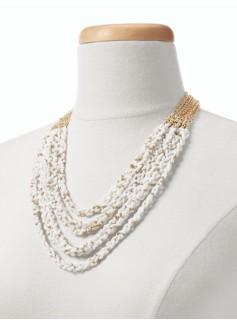 Seedbead Multi-Strand Necklace