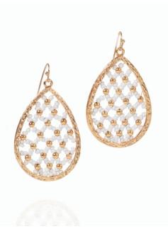 Bead Basket Earrings