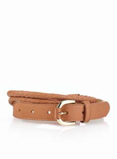 Rope & Leather Belt